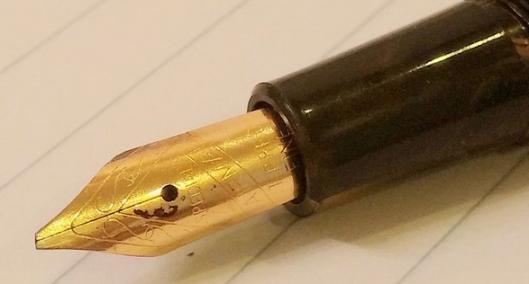 penita customizata oblic