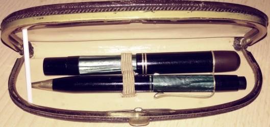 set vintage pelikan 100 si pelikan auch creion vintage