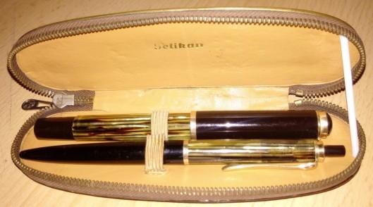 set vintage peikan 400 si creion pelikan vintage
