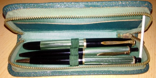 set vintage pelikan stilou pelikan creion pelikan pix pelikan