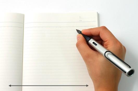 cum sa scrii cu stiloul 5