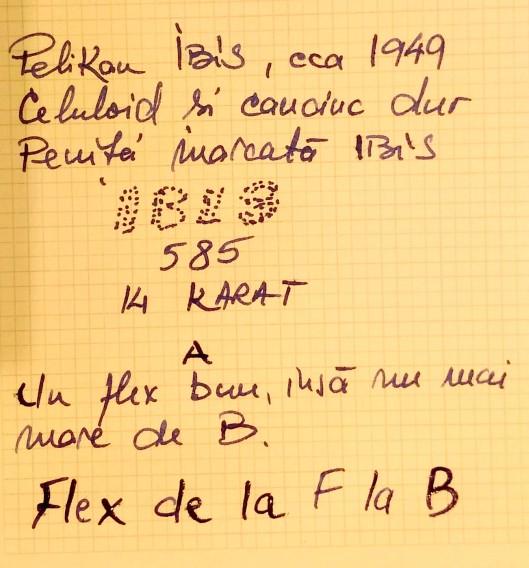 mostra scris pelikan ibis stilouri reparatii penite